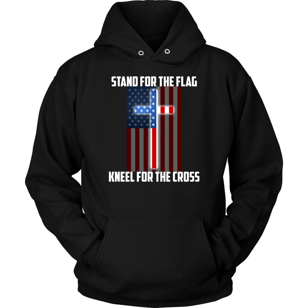 Limited Edition - Stand For The Flag Kneel For The Cross