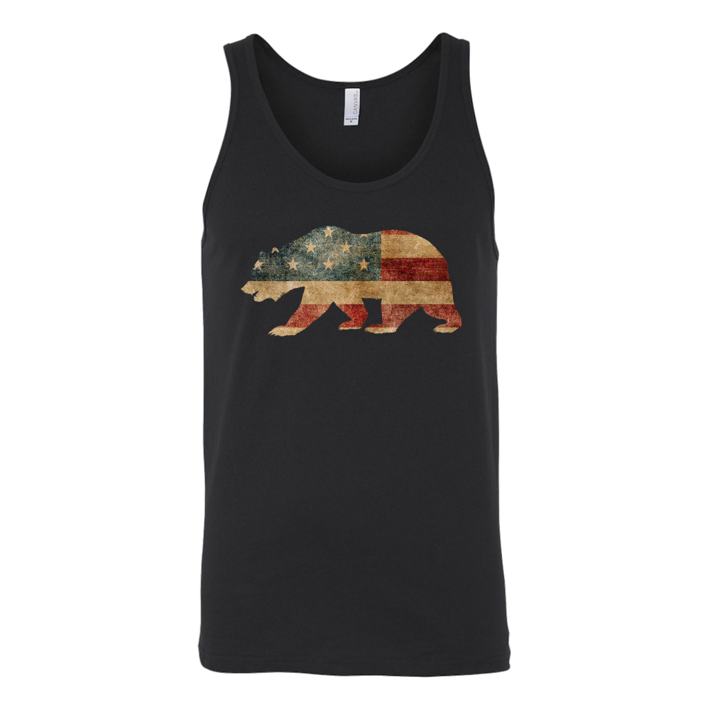 USA Bear Flag Shirt