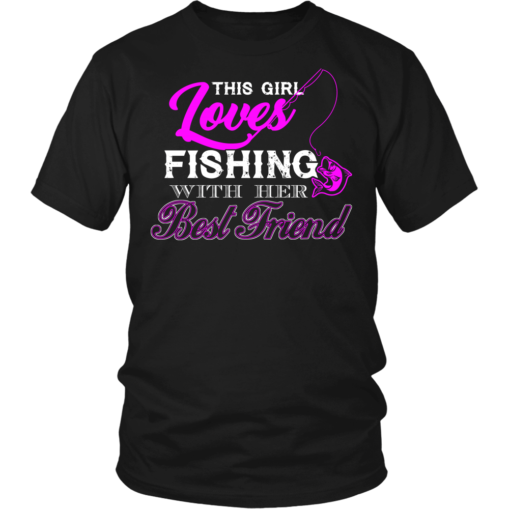 This Girl Loves Fishing With Her Best Friend