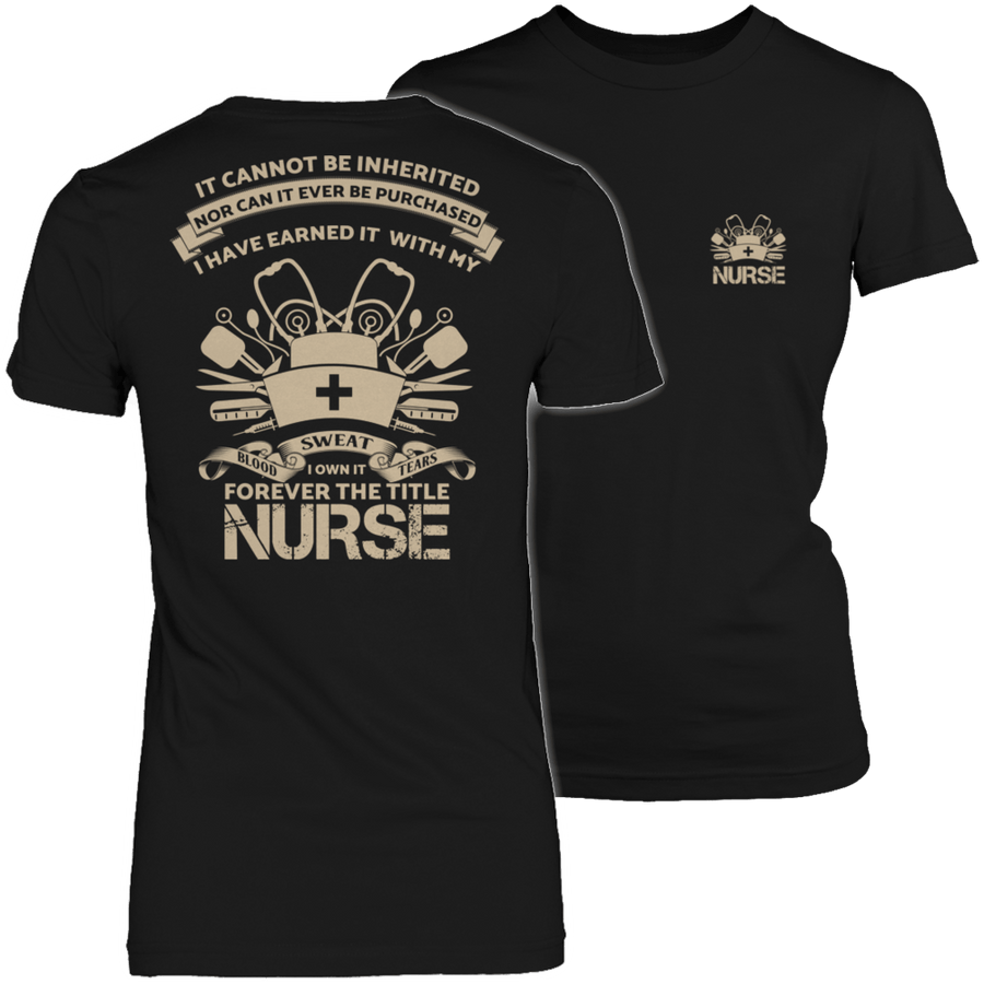 Forever The Title Nurse