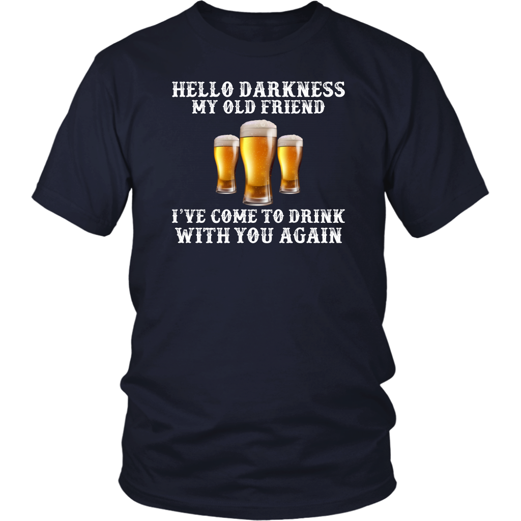 Limited Edition - Hello Darkness My Old Friend I've Come To Drink With You Again