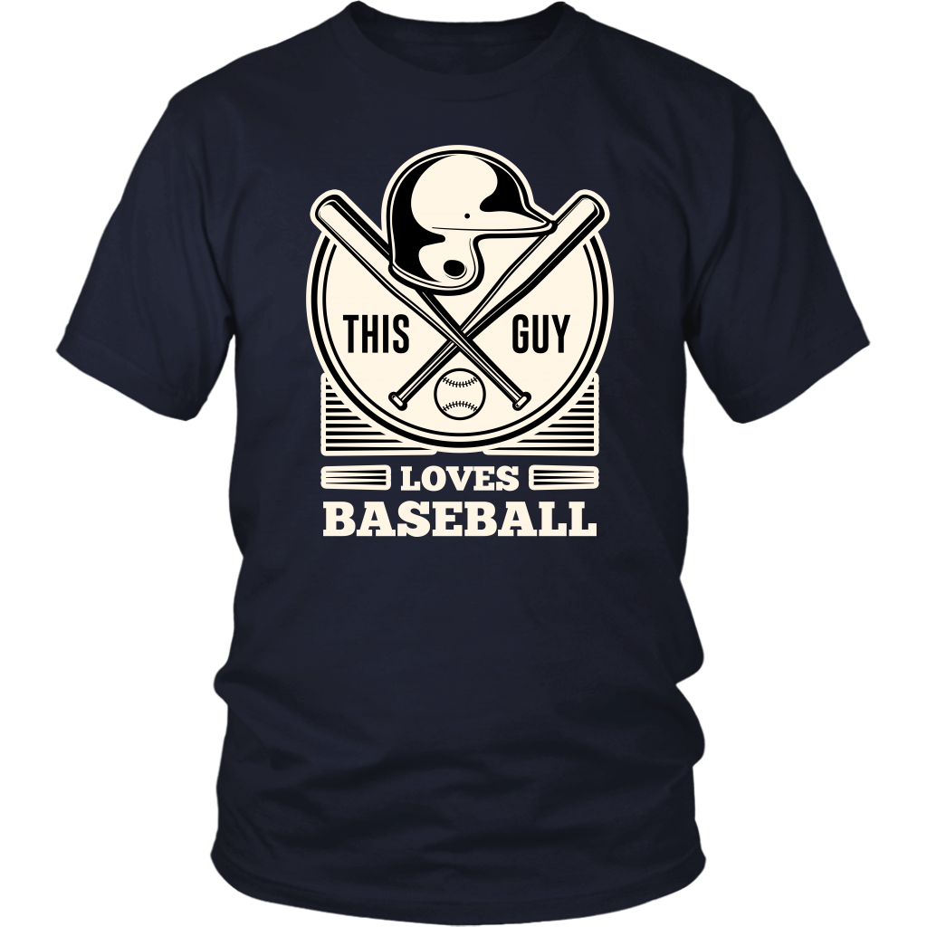Limited Edition - This Guy Loves Baseball