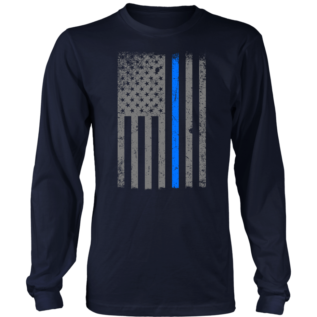 Patriotic Flag Blue Line (Version 2)