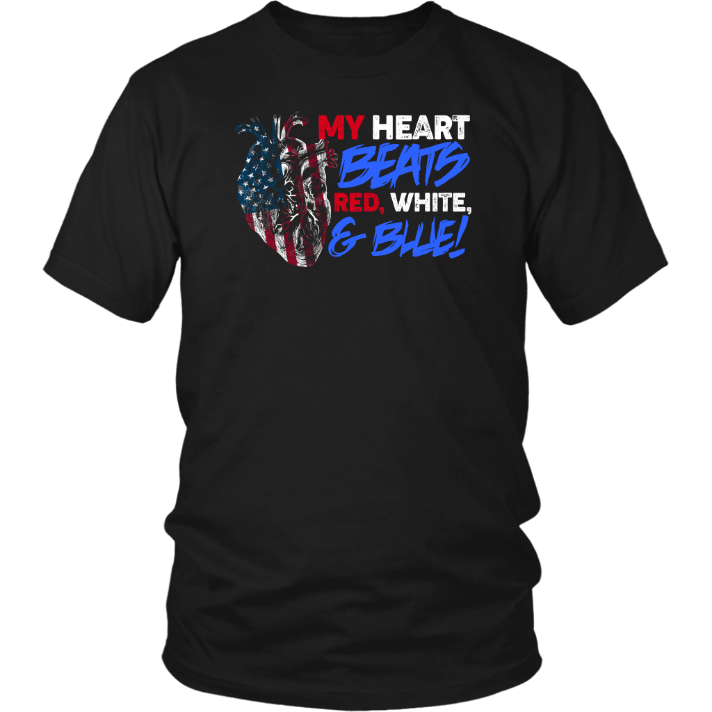 My Heart Beats Red,White &Blue!