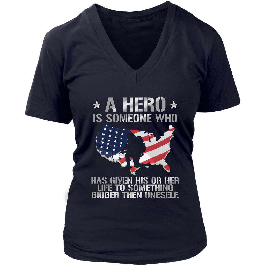 A Hero Is Someone Who Has Given His Or Her Life To Something Bigger Then Oneself