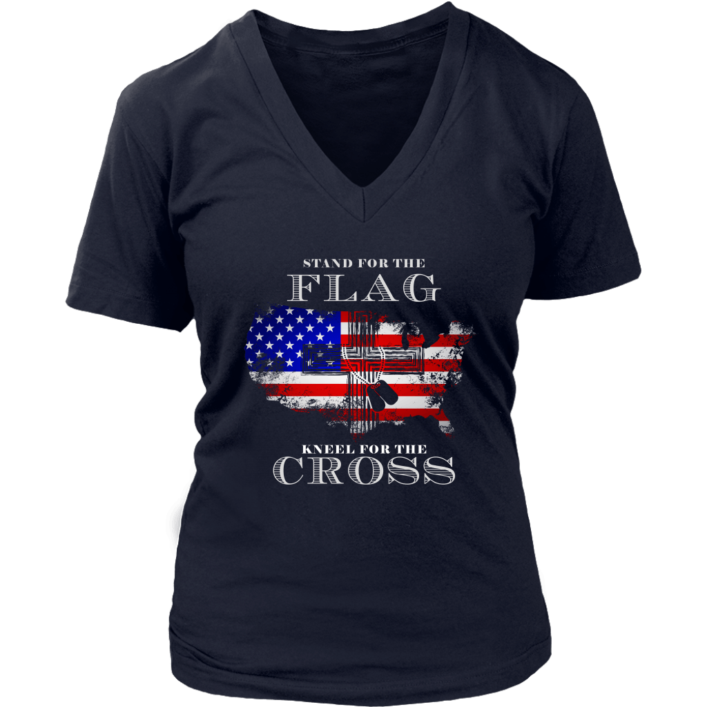 Stand For The Flag Kneel For The Cross (Version 16)