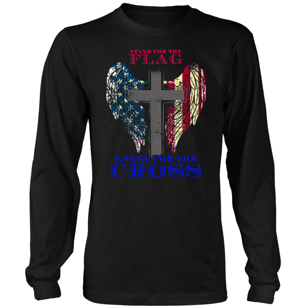 Stand For The Flag Kneel For The Cross (Version 27)