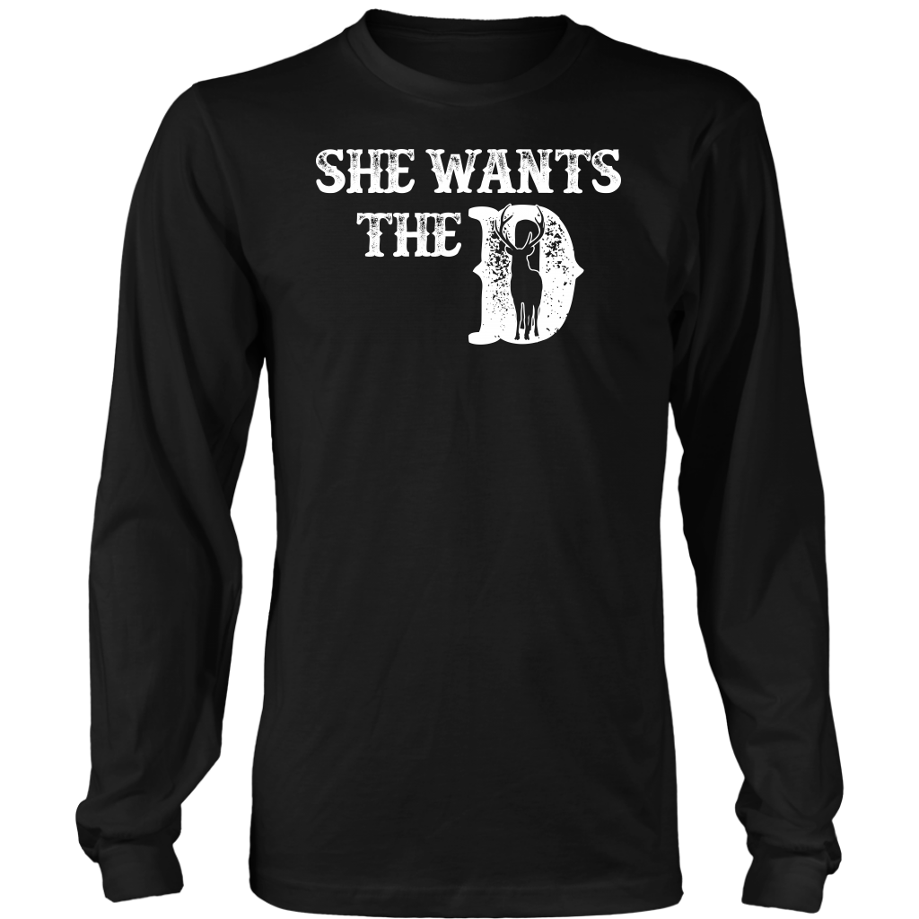 Limited Edition - She Wants The D