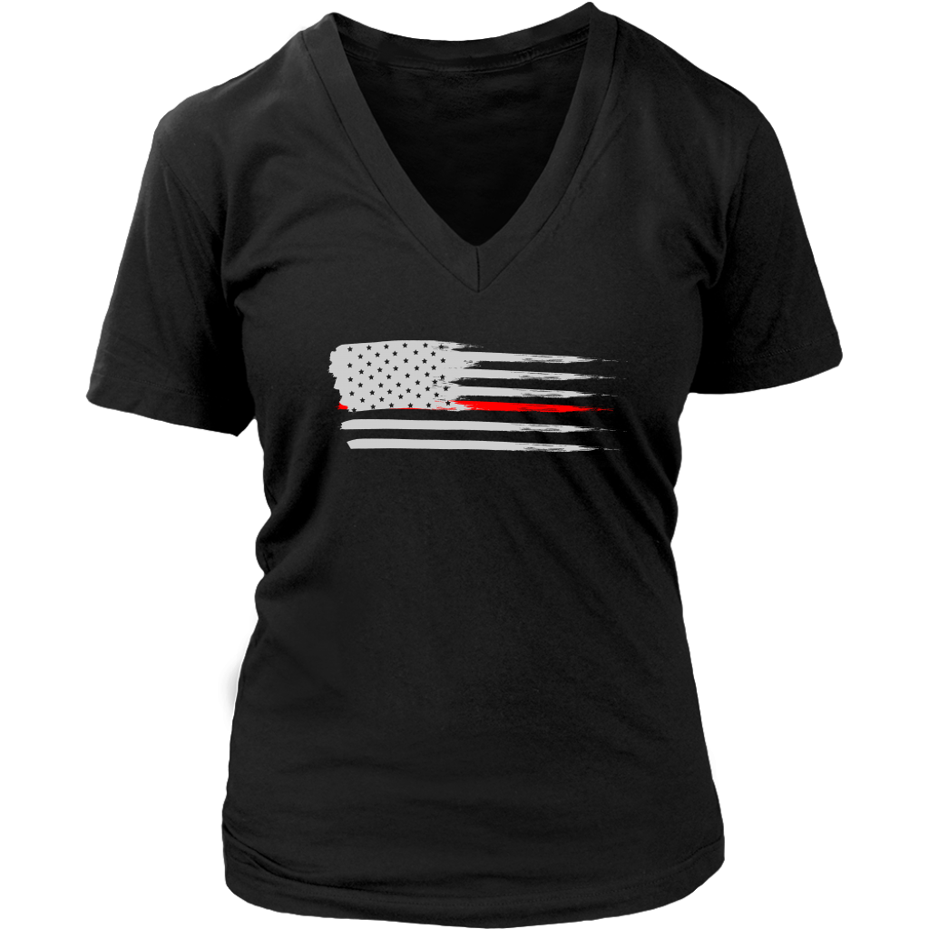 Thin Flag Red Line
