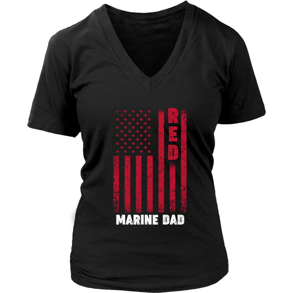 Red Marine Dad