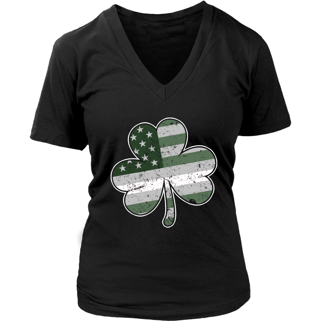 Limited Edition - Thin White Line Shamrock