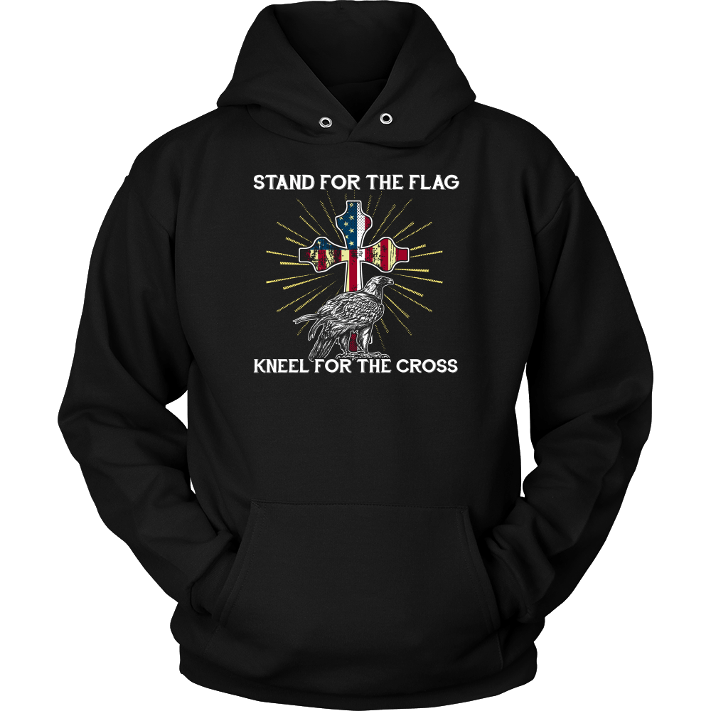 Stand For The Flag Kneel For The Cross Eagle
