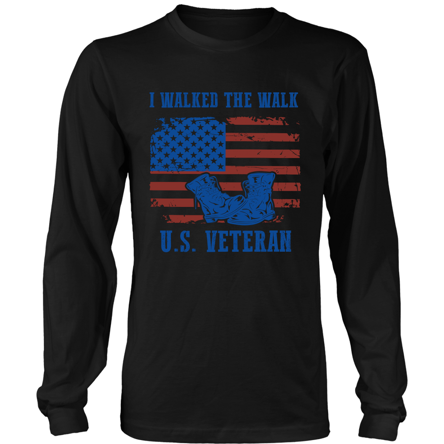 I Walked The Walk U.S Veteran