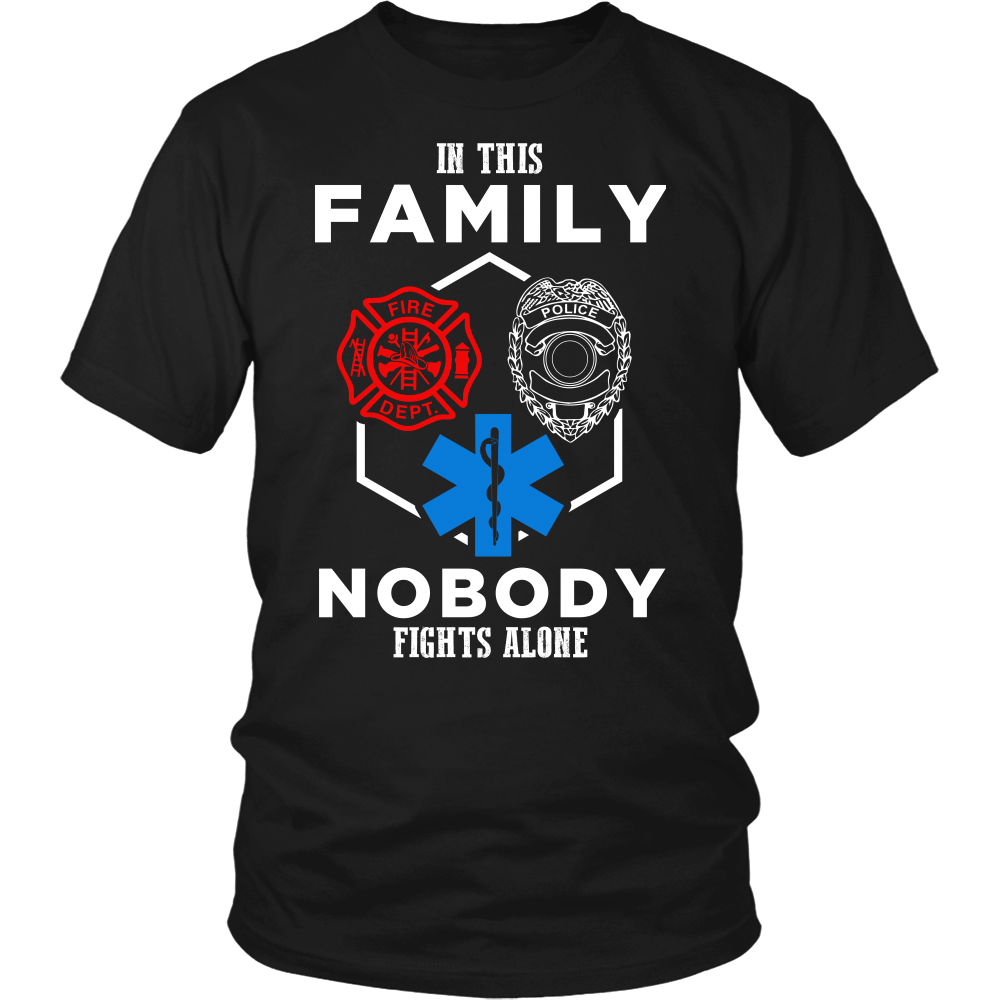 In This Family Nobody Fights Alone (Version 1)