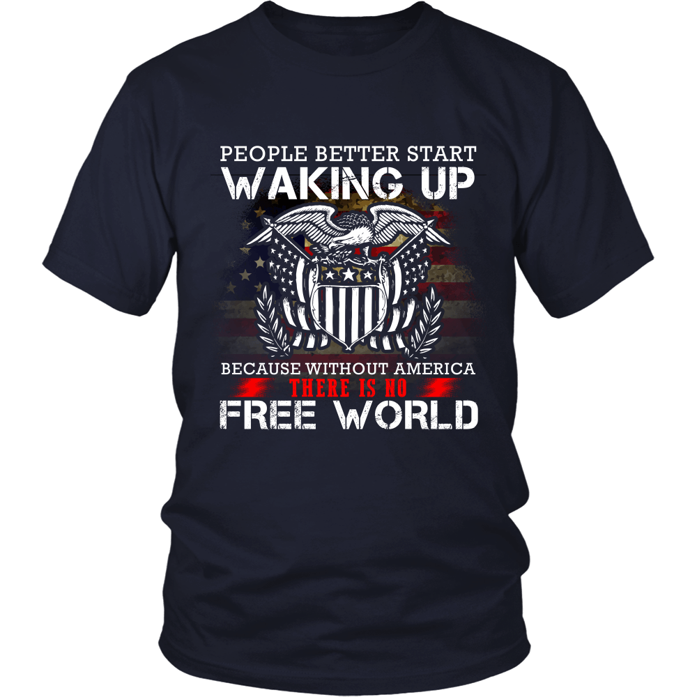 Without America There Is No Free World