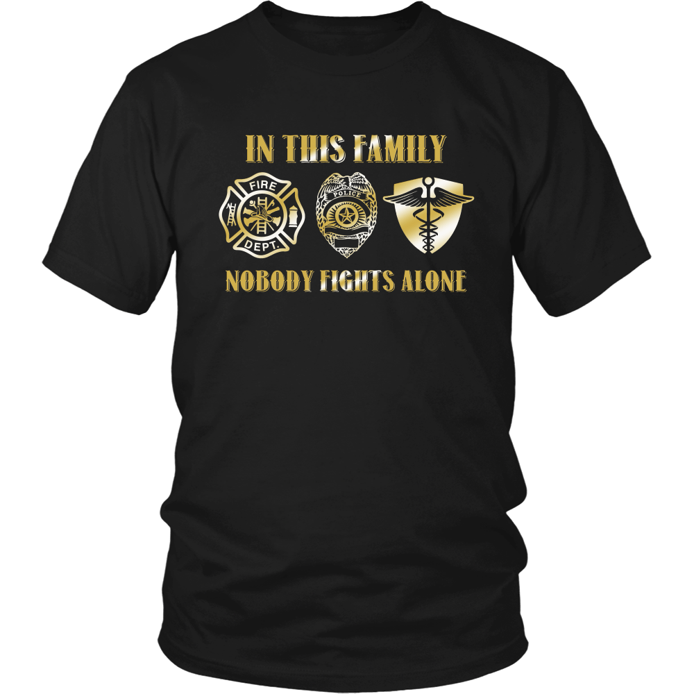 In This Family No One Fights Alone (Gold)