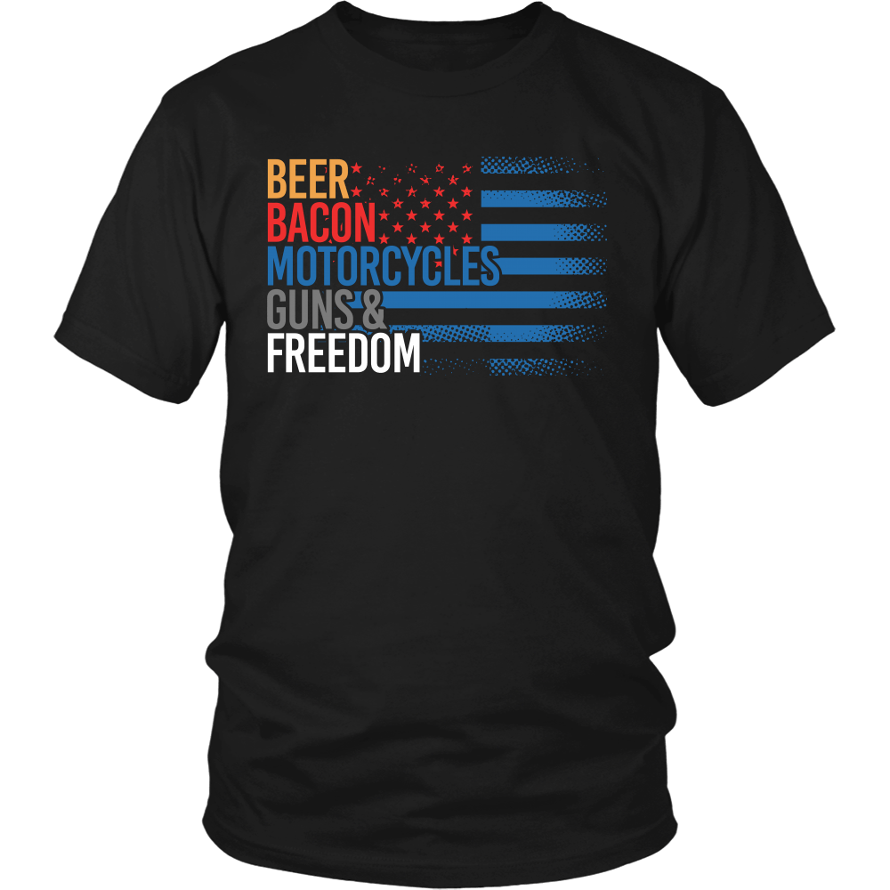 Beer, Bacon, Motorycles, Guns & Freedom