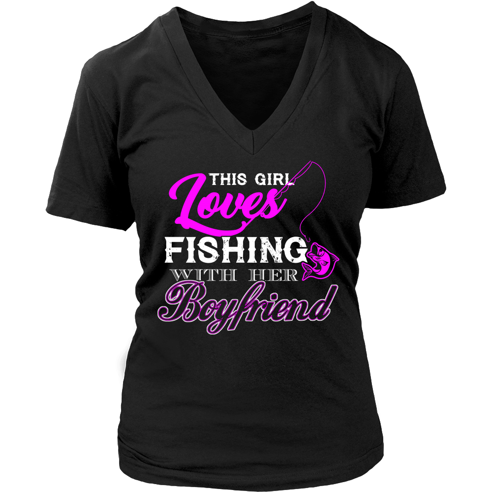 This Girl Loves Fishing With Her Boyfriend