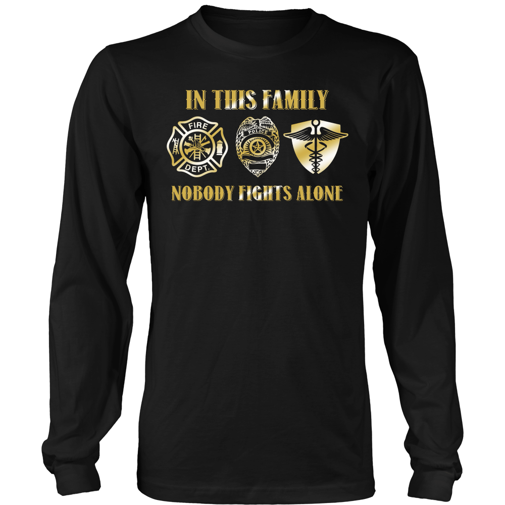 In This Family Nobody Fights Alone (Version 2)