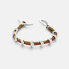 Blaze bracelet in brown, black or tan