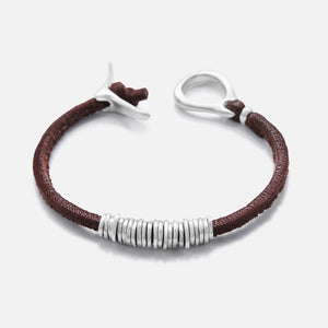 Spark bracelet in brown or black