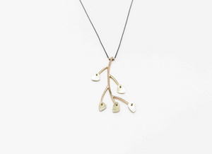 Forget Me Not, 19k Gold
