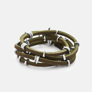 Torch wrap in olive