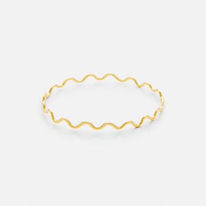 Ripple Bangle in 19k