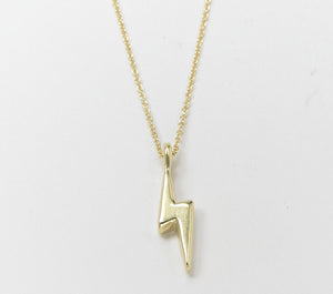 Baby Bolt, 19k Gold on chain