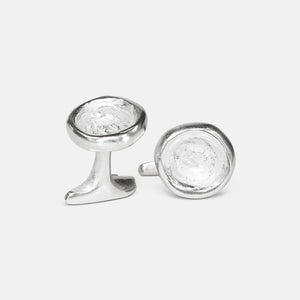Belly Button Cufflinks (Small)