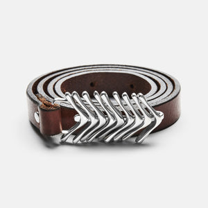 Fishtail Belt Brown