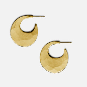 Moon Hoops 19k Gold, medium