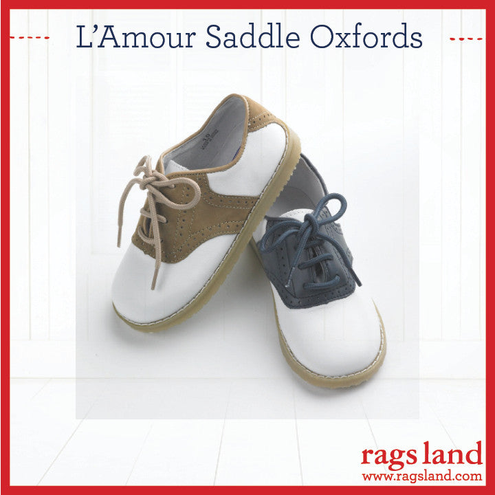 L'Amour Saddle Oxfords