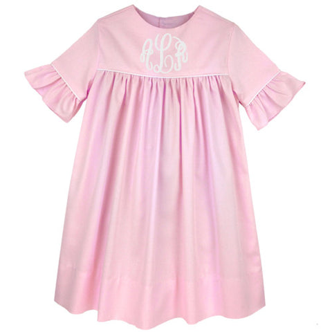 Pink Pique Kelley Dress
