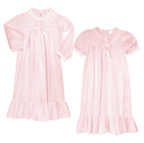Laura Dare Princess Nightgown Pink Peignoir Set