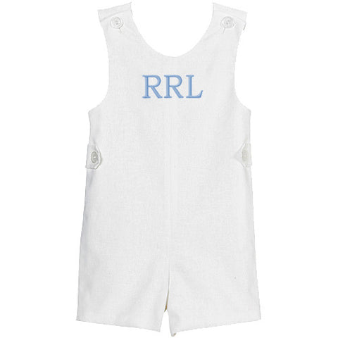 White Linen Boys Shortall