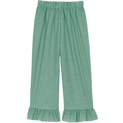 Kelly Classic Checks Ruffle Pants