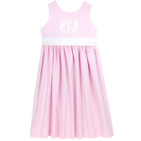 Pink Pique Picnic Dress