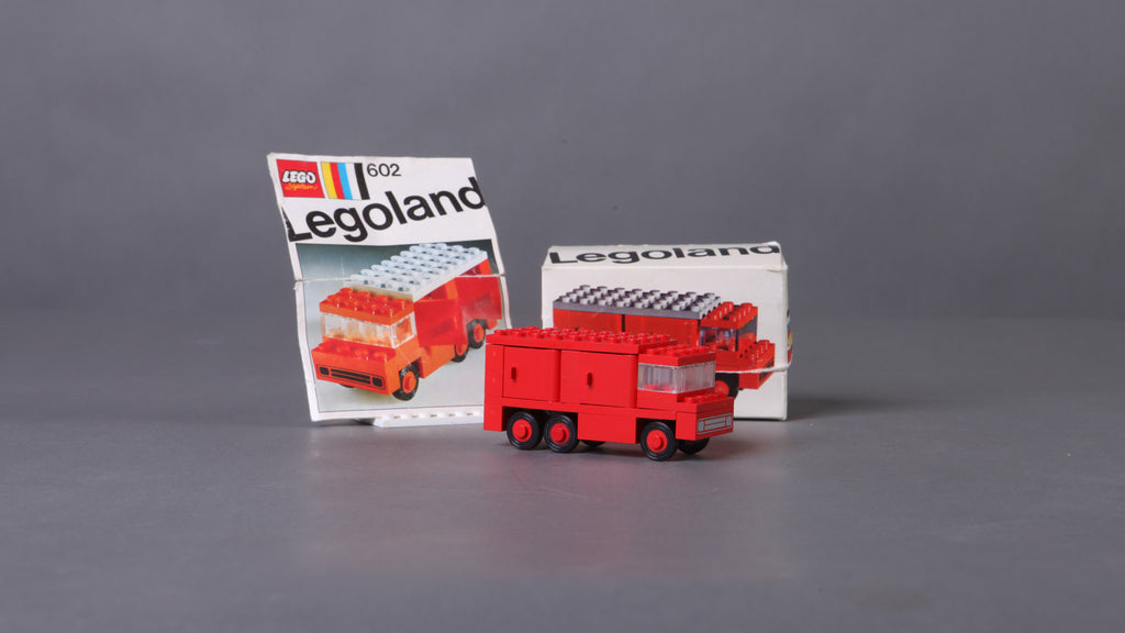 lego city fire truck instructions 60107