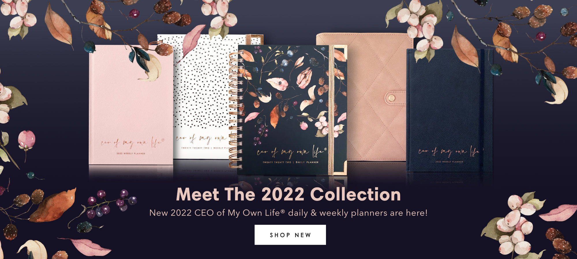Ella Iconic Stationery • 2022 Daily & Weekly Life Planners • CEO of My Own Life®