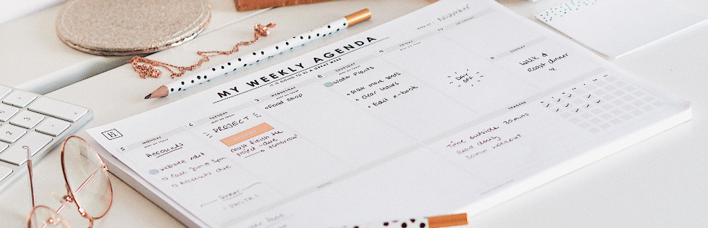 Ella Iconic Undated Daily & Weekly Planners Desk Pads