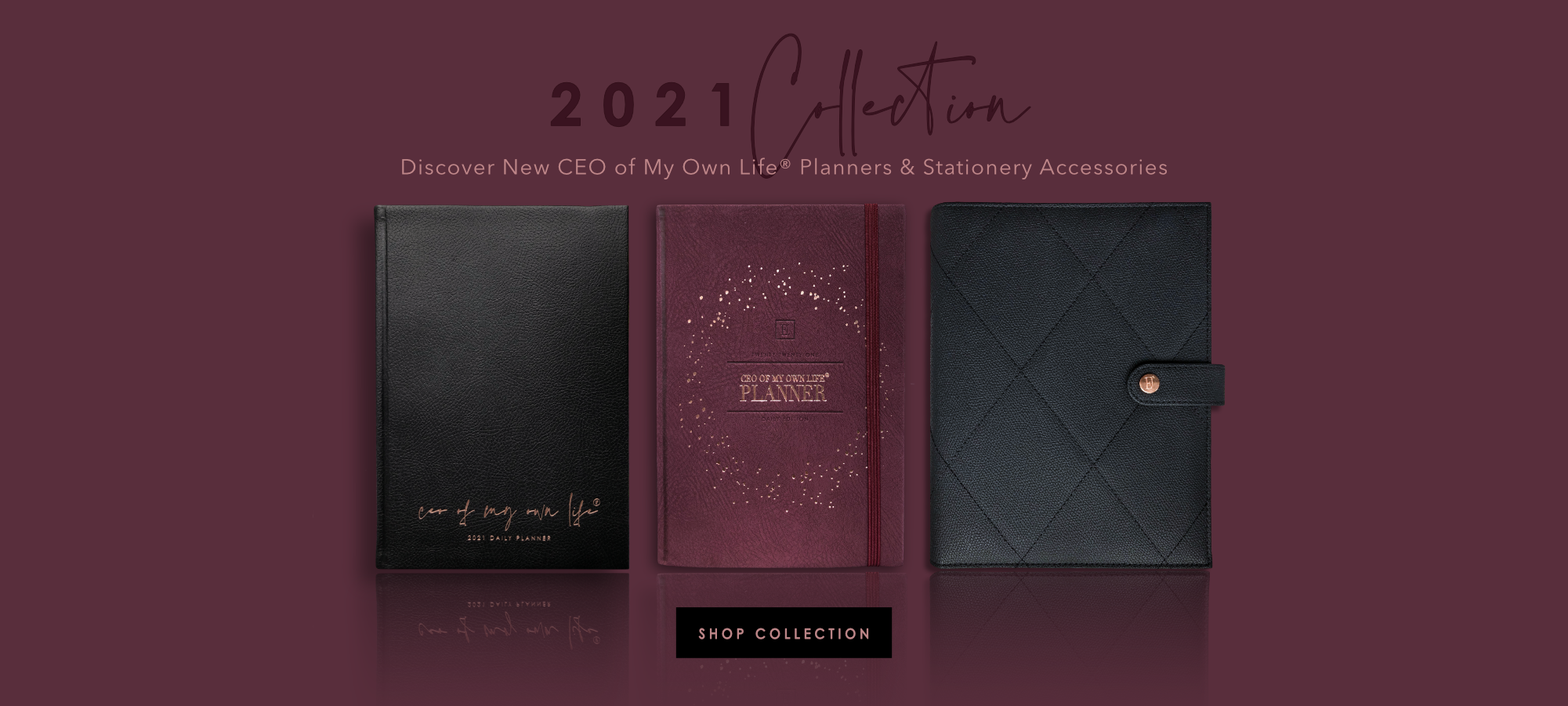Ella Iconic | 2021 CEO of My Own Life® Daily & Weekly Planners
