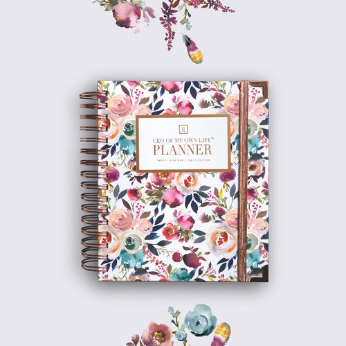 2019 Daily | CEO OF MY OWN LIFE® Planner | Blossom