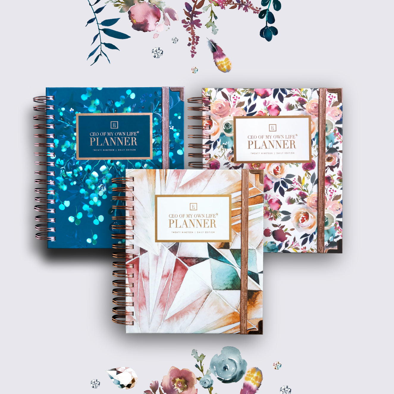 2019 Daily | CEO OF MY OWN LIFE® Planner | Two are better than one!