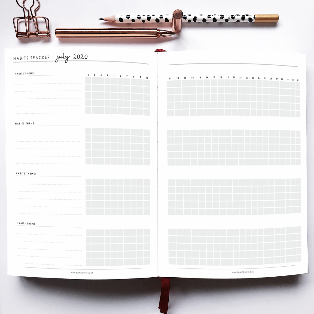 2020 Weekly CEO OF MY OWN LIFE® Planner | Pink Peony