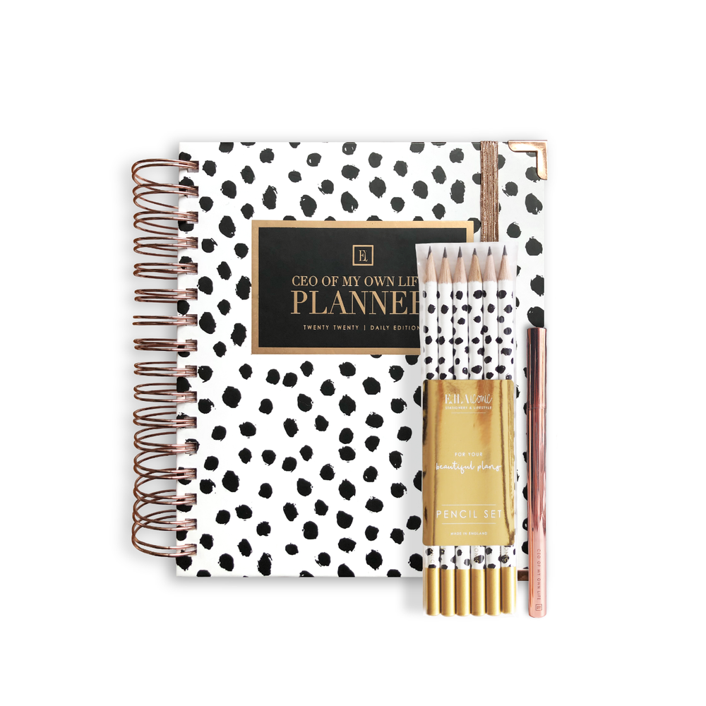 2020 Daily | CEO OF MY OWN LIFE® Planner | Dalmatian Bundle