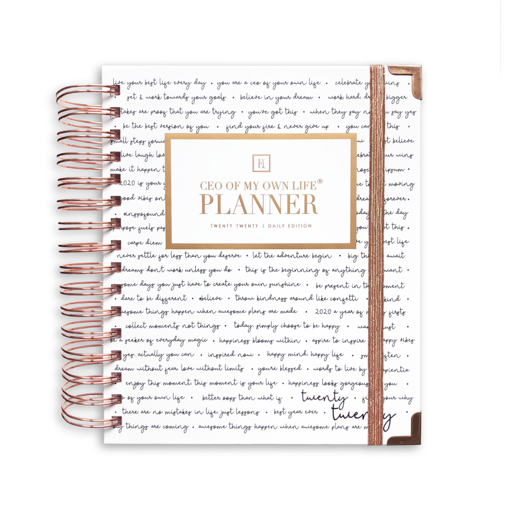 2020 Daily | CEO OF MY OWN LIFE® Planner | Inspiration