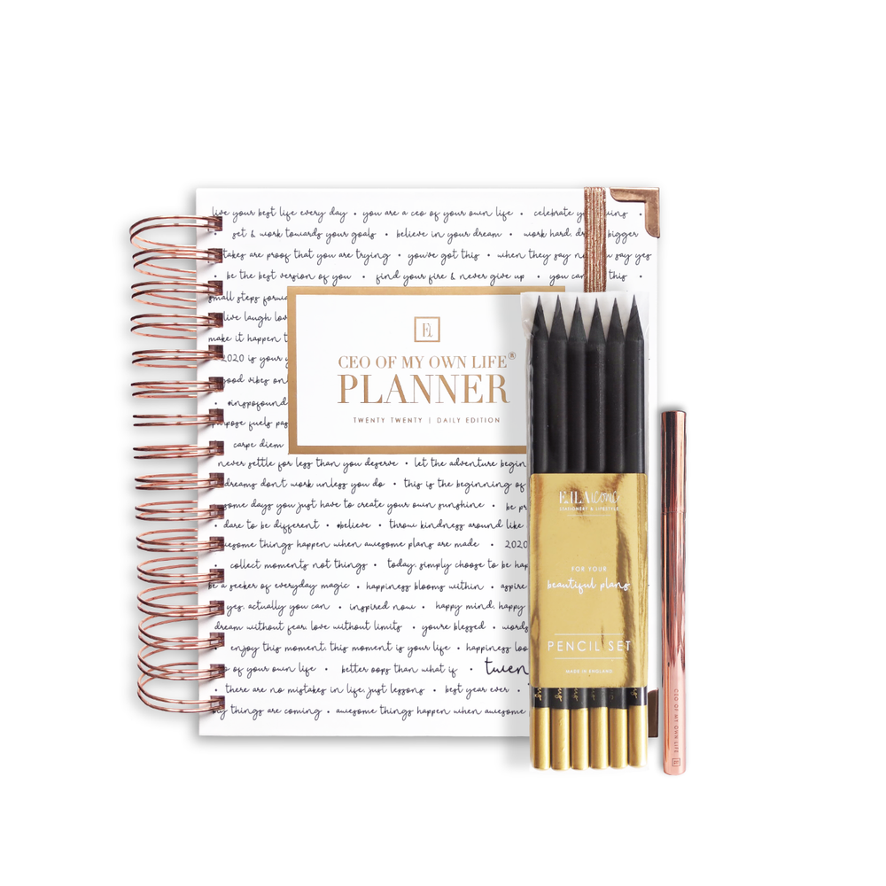 2020 Daily | CEO OF MY OWN LIFE® Planner | Inspiration Bundle