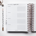 Ella Iconic | 2020 Daily CEO of My Own Life® Planner | Habit Tracker Page