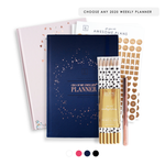 2020 Weekly Planner Bundle | Luxury Edit